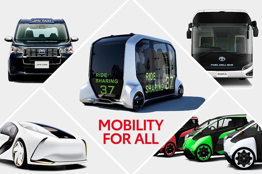 Toyota presenta la movilidad para los Juegos Olímpicos de Tokio