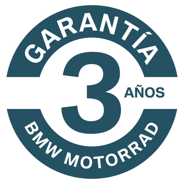 La garantía comercia de BMW Motorrad es de 3 años