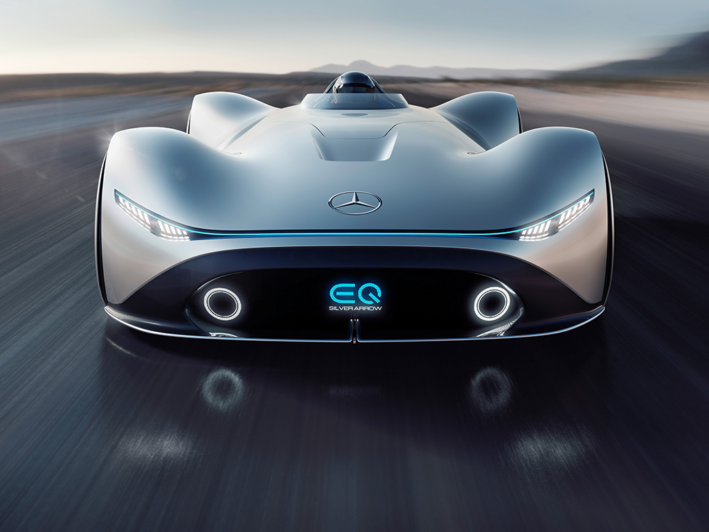 Mercedes Benz EQ Silver Arrow
