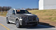 Últimas pruebas del BMW X7