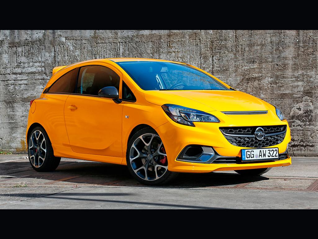 Opel Corsa GSi, ya a la venta