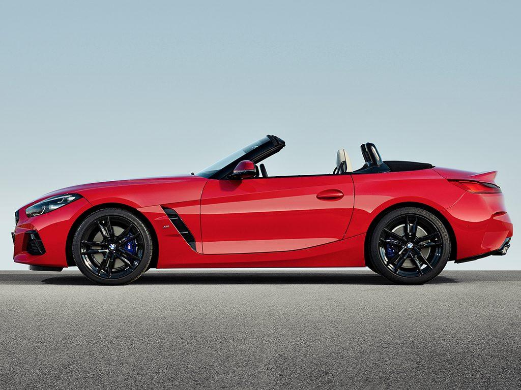 BMW Z4, nueva motorización con cambio manual