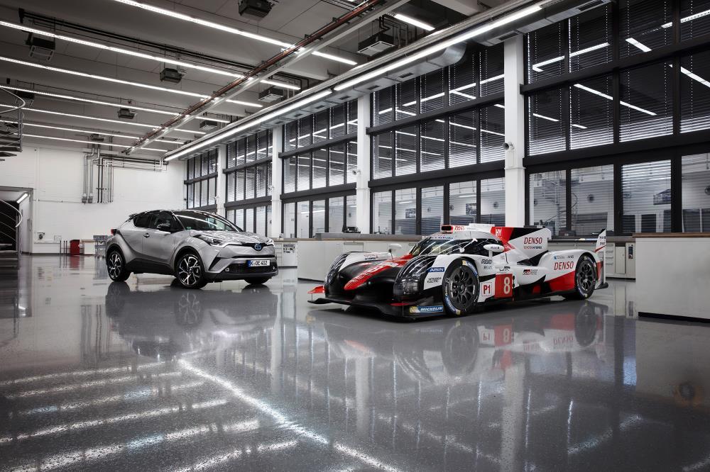 Tecnología híbrida eléctrica de Toyota