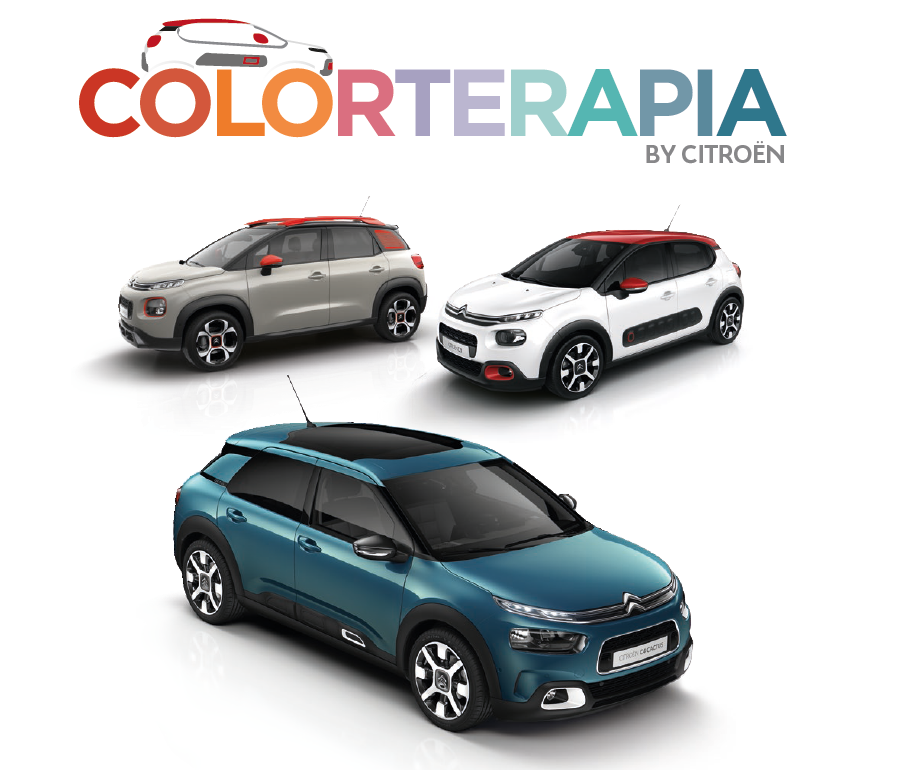 Personalízate con la Colorterapia de Citroën