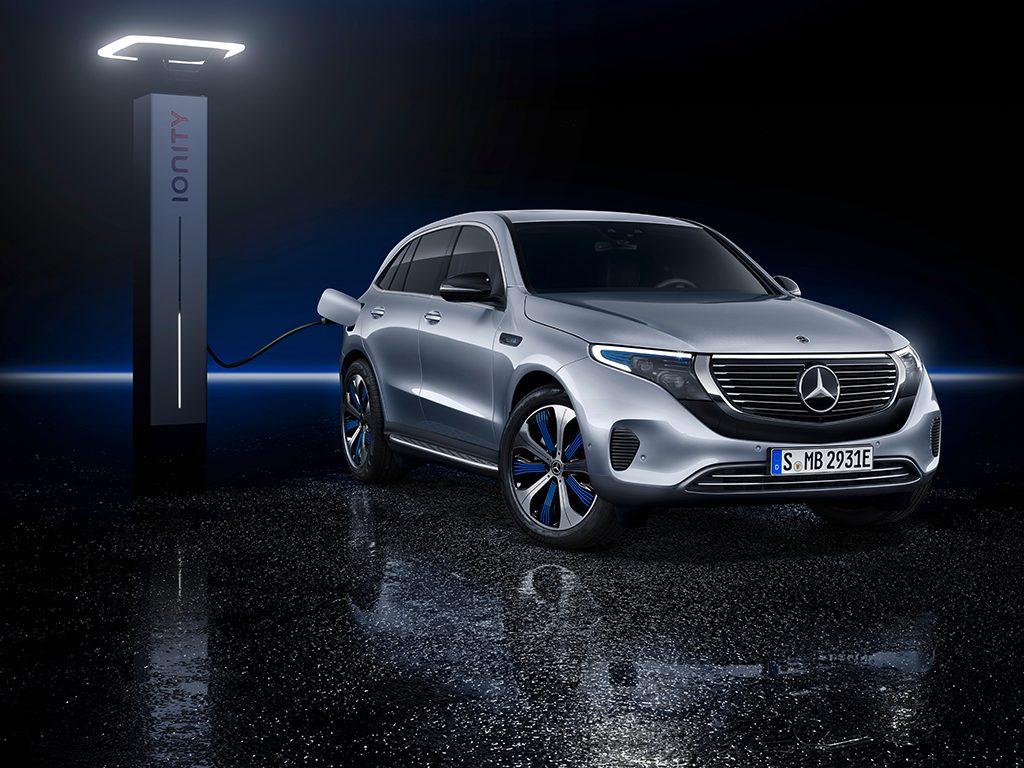 Mercedes-Benz EQC, el eléctrico del futuro