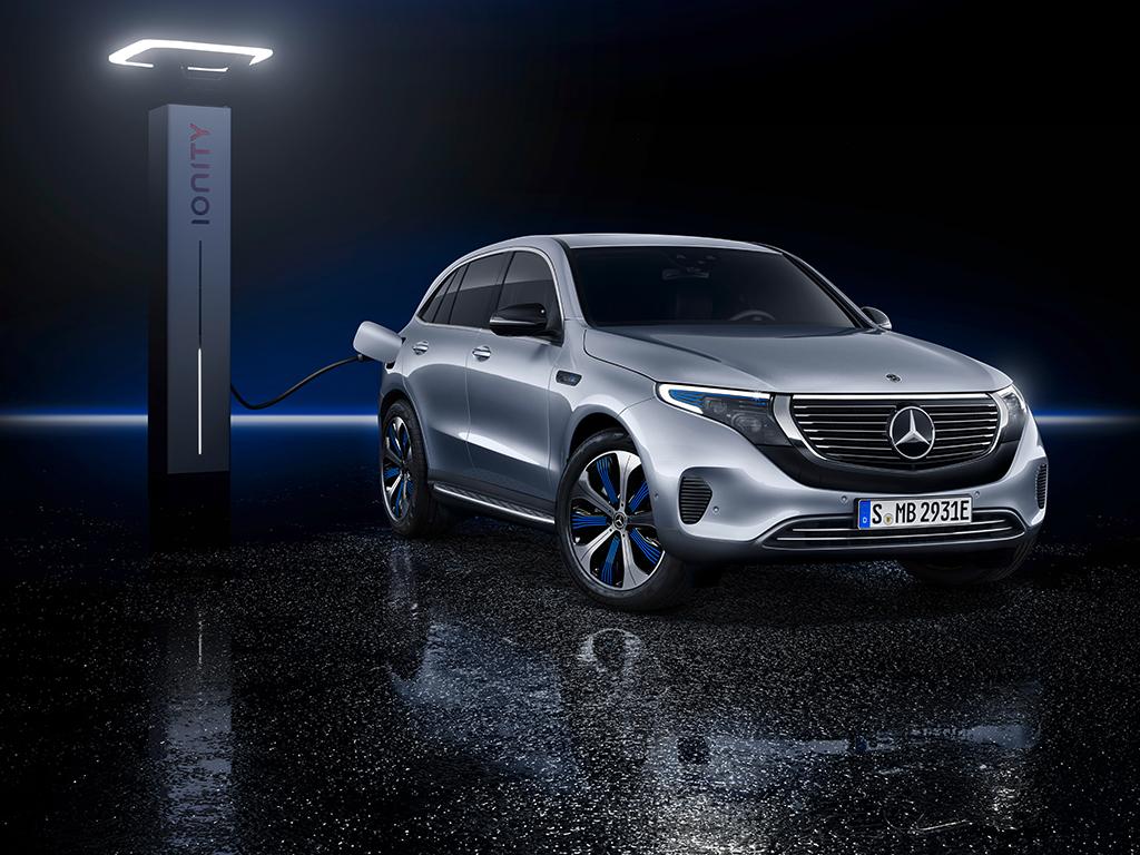 Mercedes-Benz EQC en breve por las carreteras