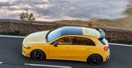 AMG A 35 4MATIC, Driving Performance