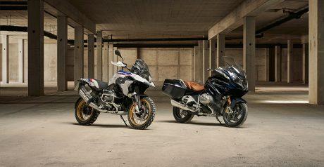BMW R 1250 GS y BMW R 1250 RT