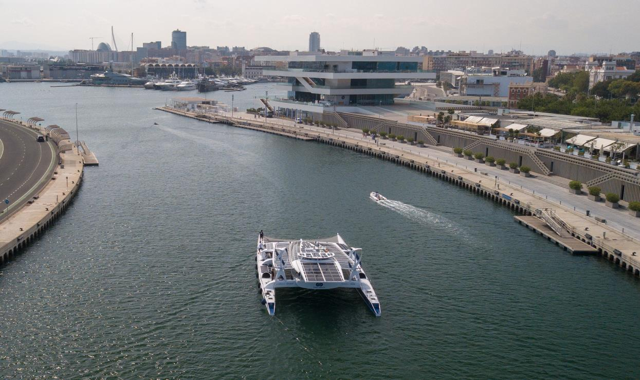 Primera embarcación de Hidrógeno en Valencia