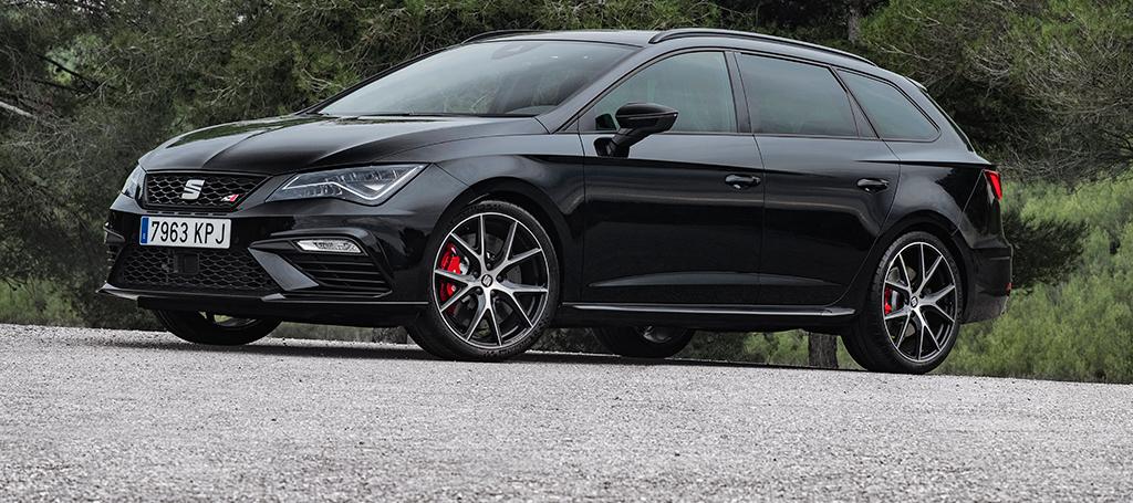 SEAT León CUPRA ST Black Carbon, edición limitada