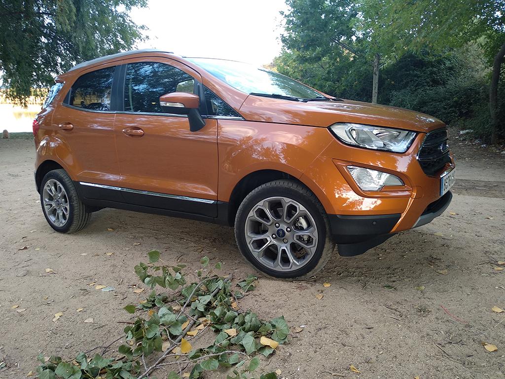 Ford EcoSport, de paseo por rne