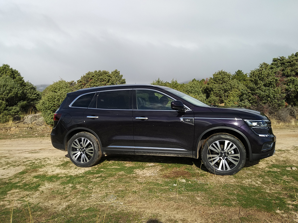 El nuevo Renault Koleos de visita por estomesuena