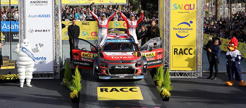 Sin palabras, Sébastien Loeb-Daniel Elena (Citroën C3 WRC) logran su 9ª victoria en el RallyRACC
