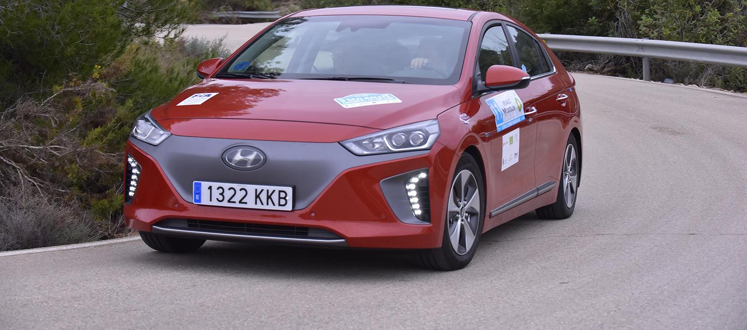 Triunfo del Hyundai Kona eléctrico en el Eco Rally