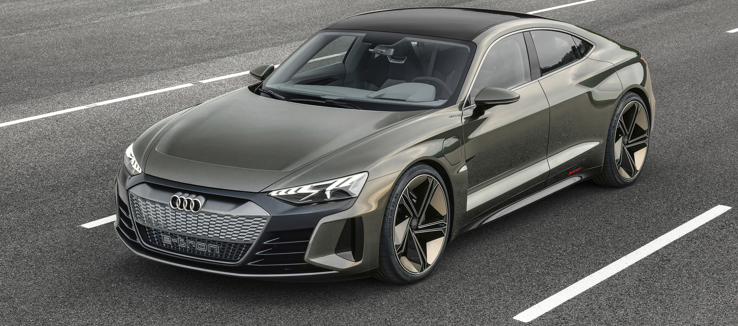 Audi e-tron GT concept eléctrico, un coupé de cuatro puertas