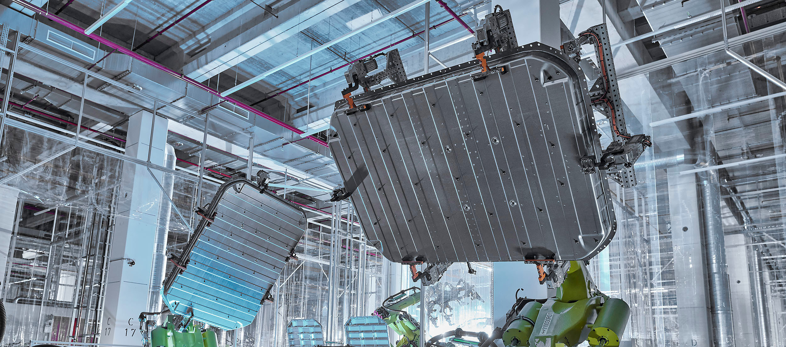 Aluminio sostenible para el bastidor de la batería del Audi e-Tron