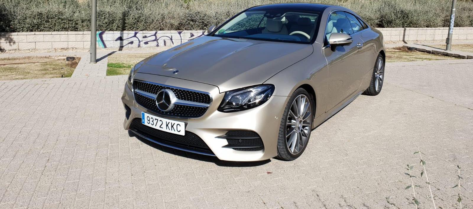 Estilo, diseño y deportividad, Mercedes-Benz Clase E Coupé