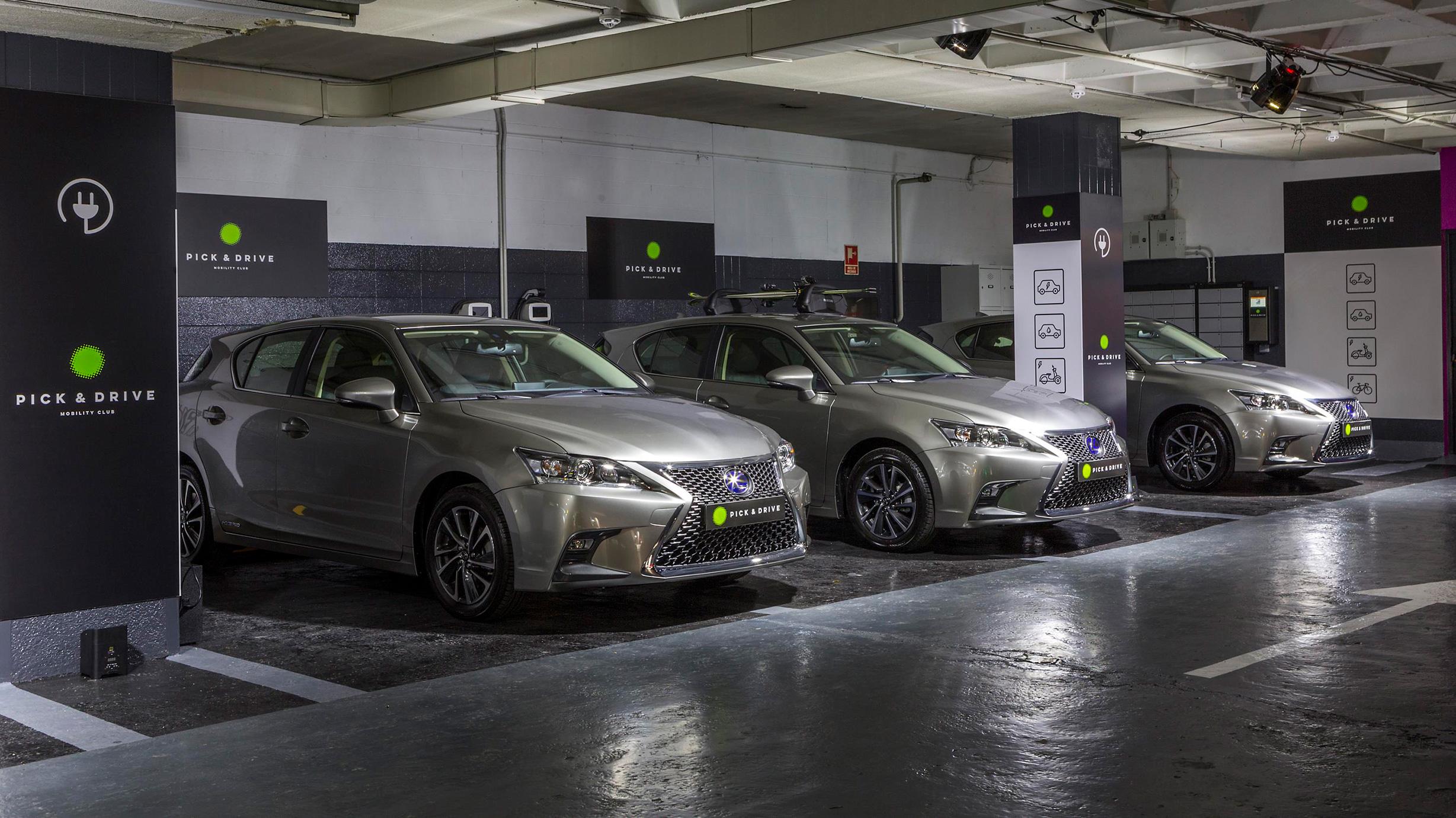 PICK & DRIVE nueva fórmula de movilidad compartida y sostenible