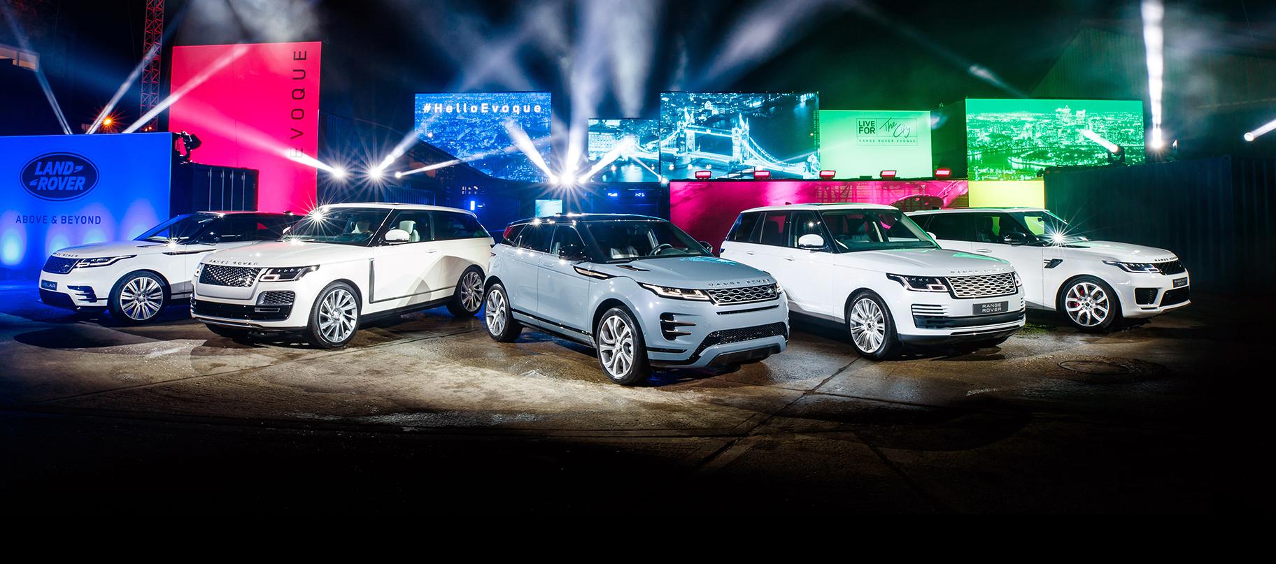 Presentado el nuevo Range Rover Evoque - Vídeo