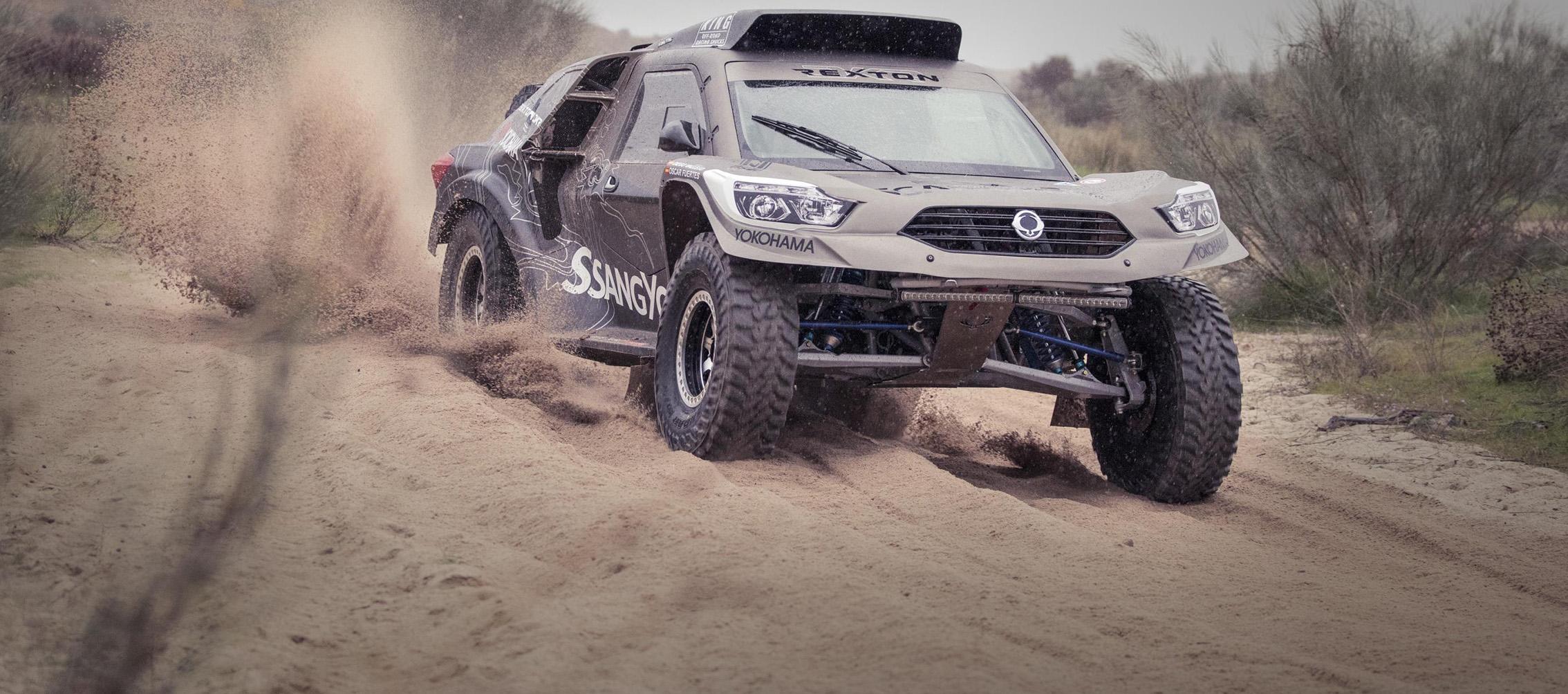 Ssangyong disputará el Dakara 2019 con el Rexton DKR