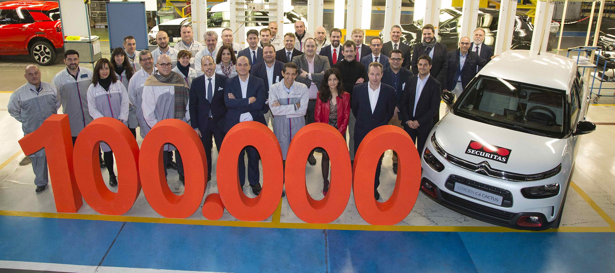 Citroën ha superado las 100.000 matriculaciones de vehículos en España, en 2018