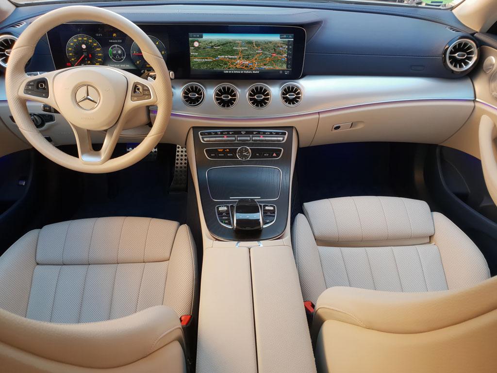 Mercedes Clase E Coupé, y el placer de conducir
