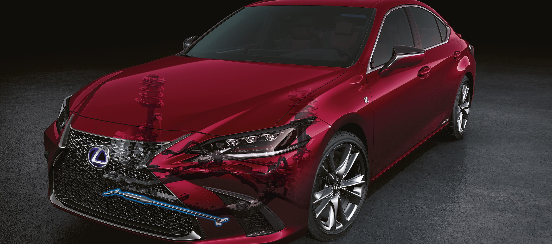Lexus ES 300h un nivel superior de dinámica a bordo