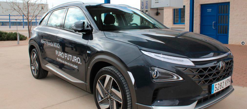 Hyundai Nexo, recargado en Albacete, una de las 5 ciudades de España con estación de repostaje de Hidrógeno