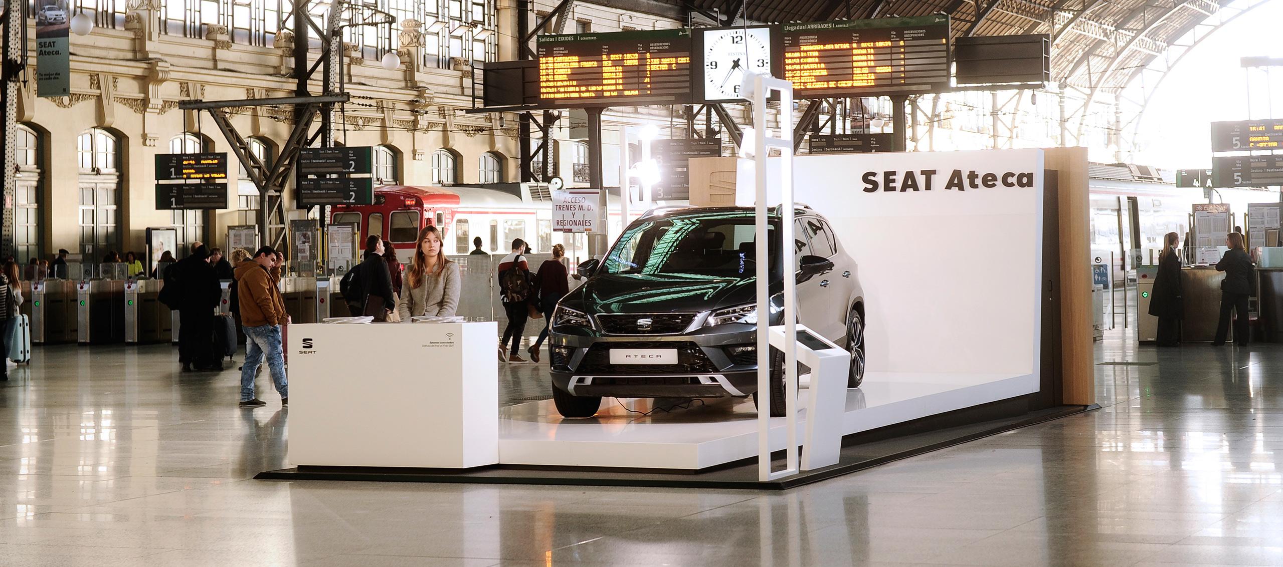 SEAT amplía su acuerdo con RENFE-ADIF