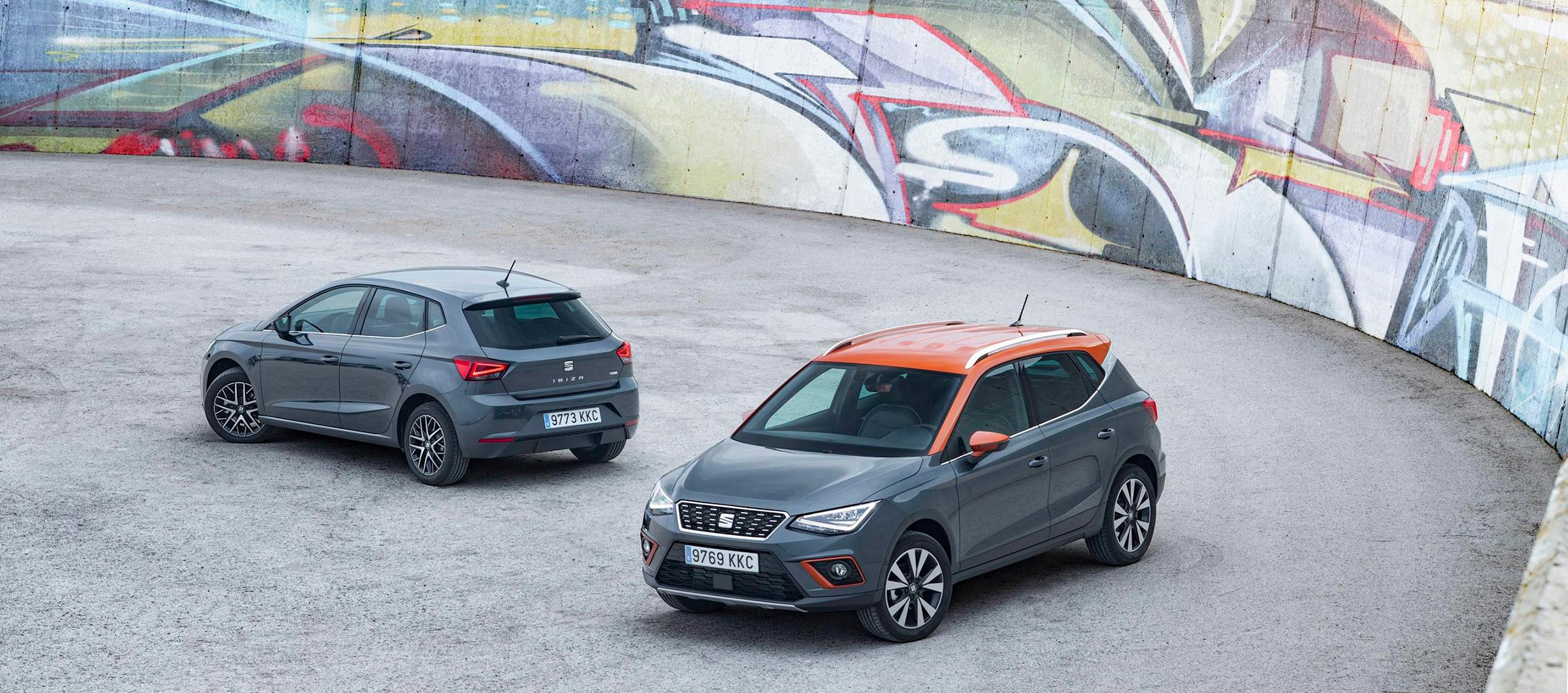 Los SEAT Ibiza y Arona obtienen 5 estrellas en el Latin NCAP