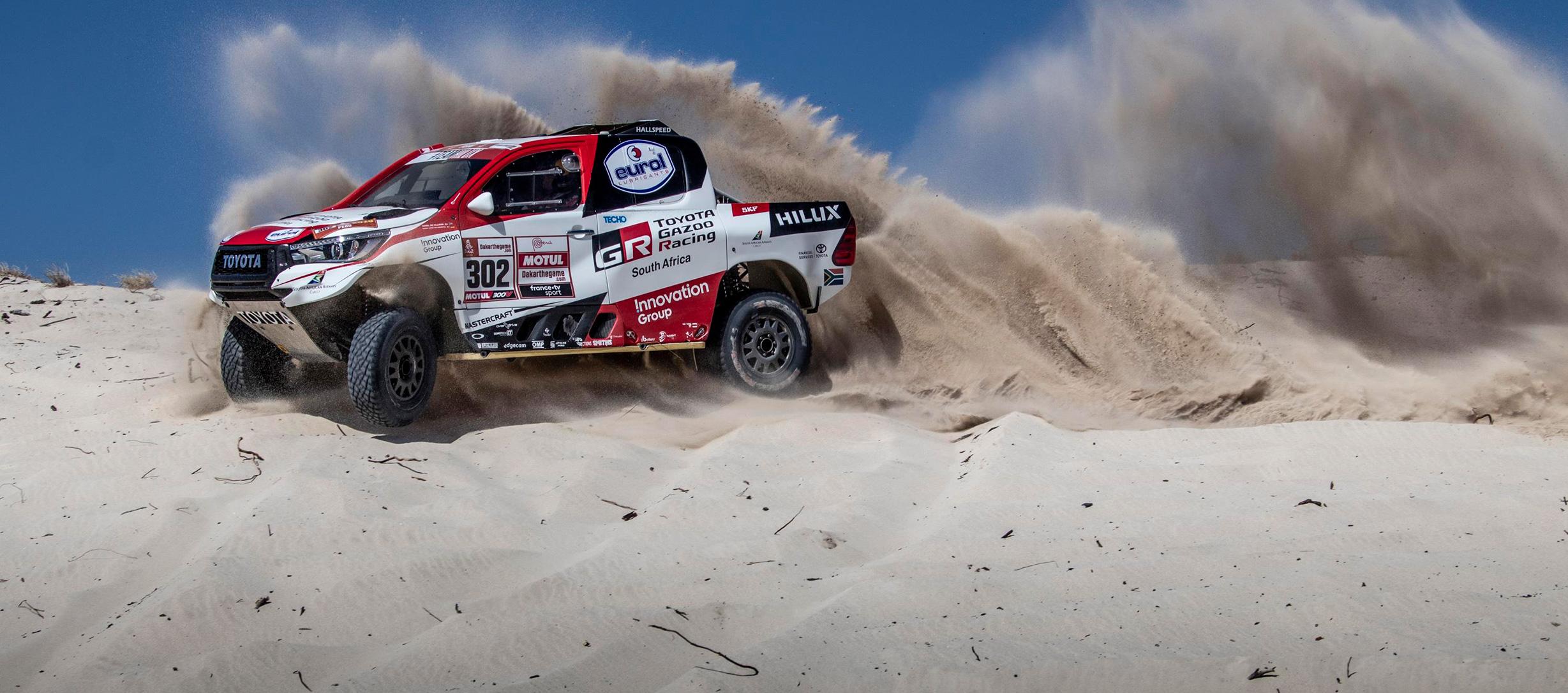 3 Toyota Hilux van a participar en el Rally Dakar 2019