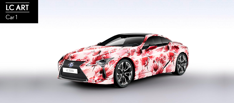 Lexus convoca el concurso ART CAR-LC 500h en Redes Sociales