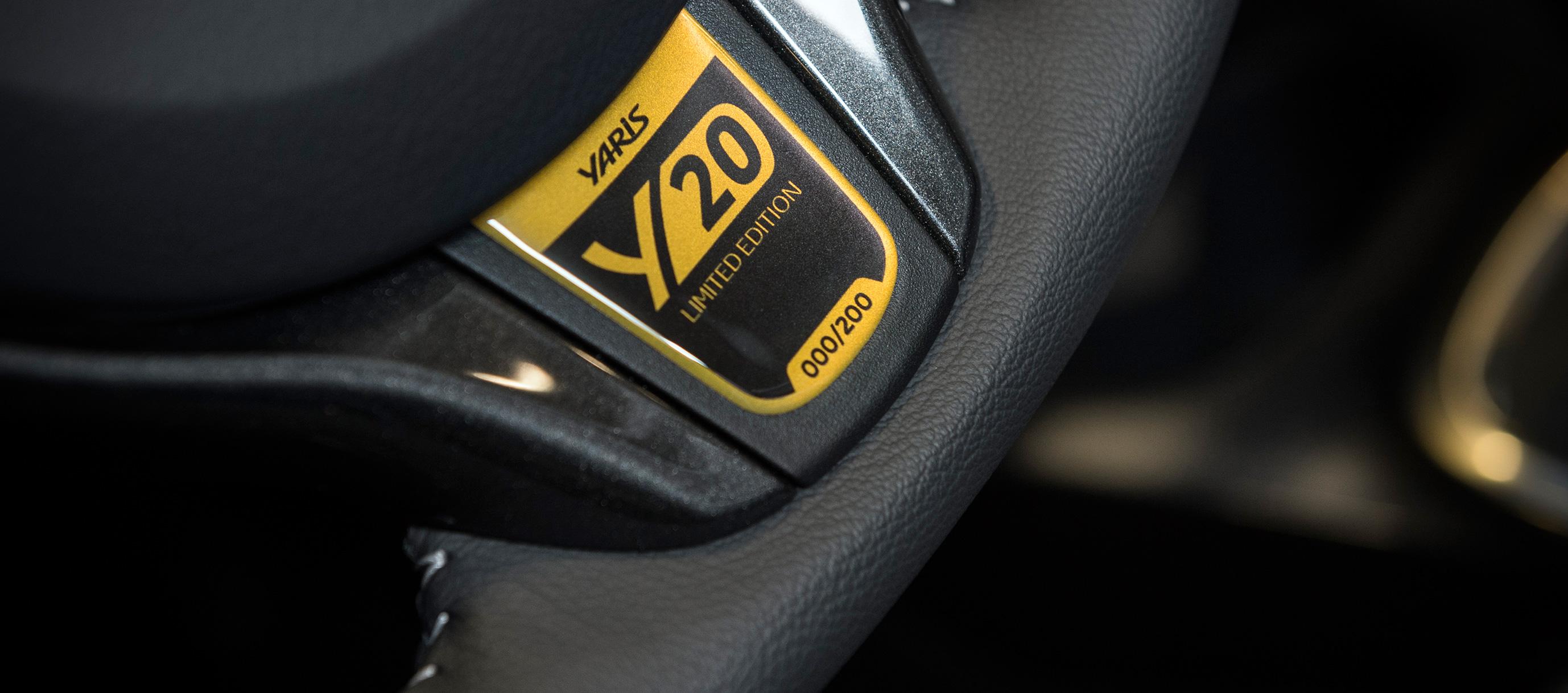 Nuevo Toyota Yaris 20 Aniversario Limited Edition