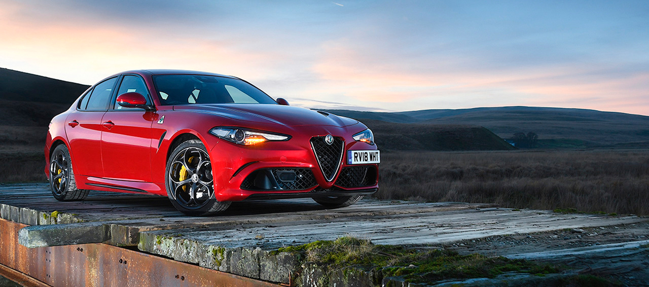 Alfa Romeo Quadrifoglio en los Car of the Year Awards 2019