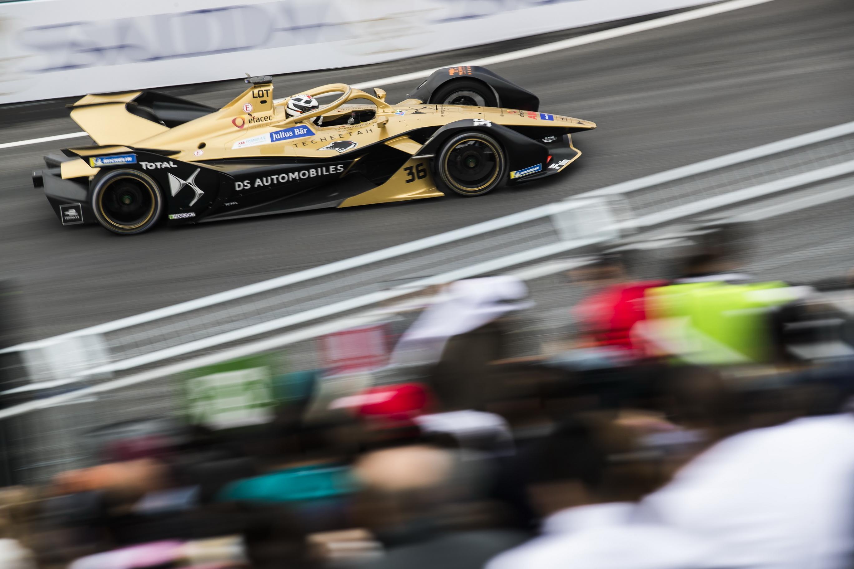 DS Techeetah escudería líder de la Fórmula E