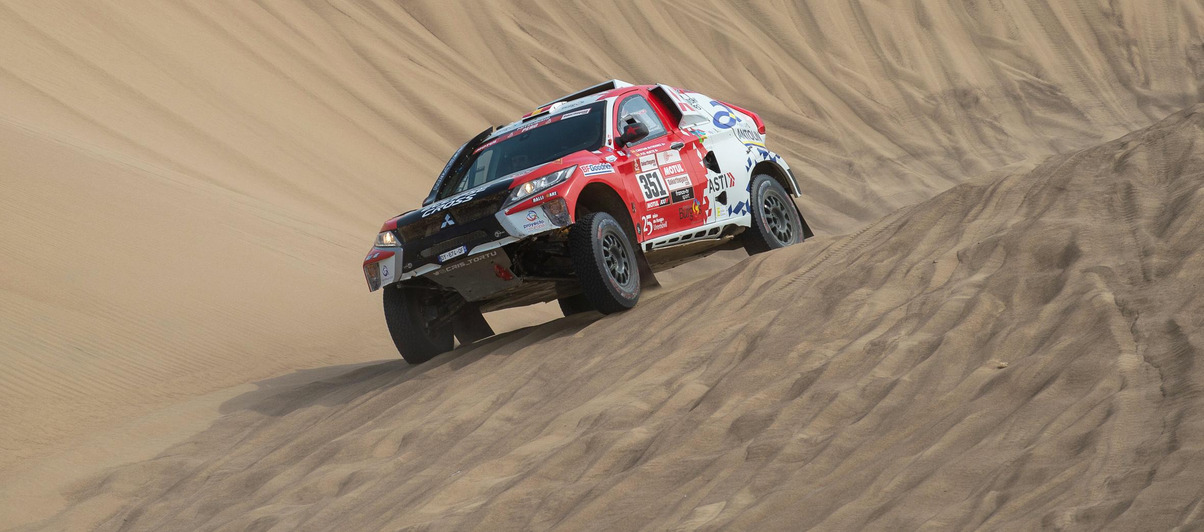 Cristina Gutiérrez a punto de culminar su mejor Dakar