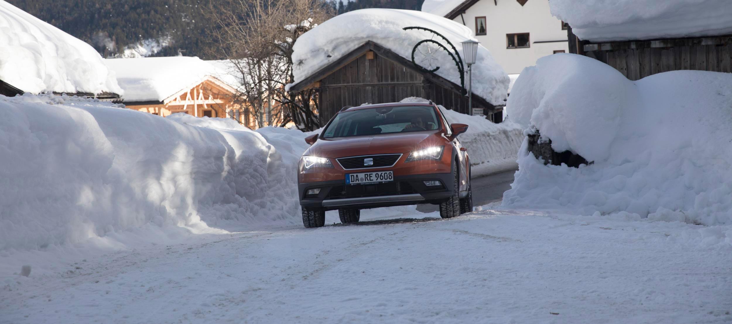 Conducir por nieve como un profesional by SEAT