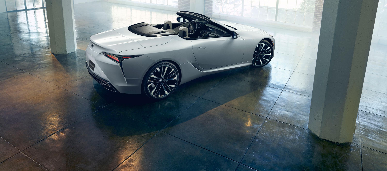 Lexus LC descapotable Concept asombra en el Salón de Detroit 2019