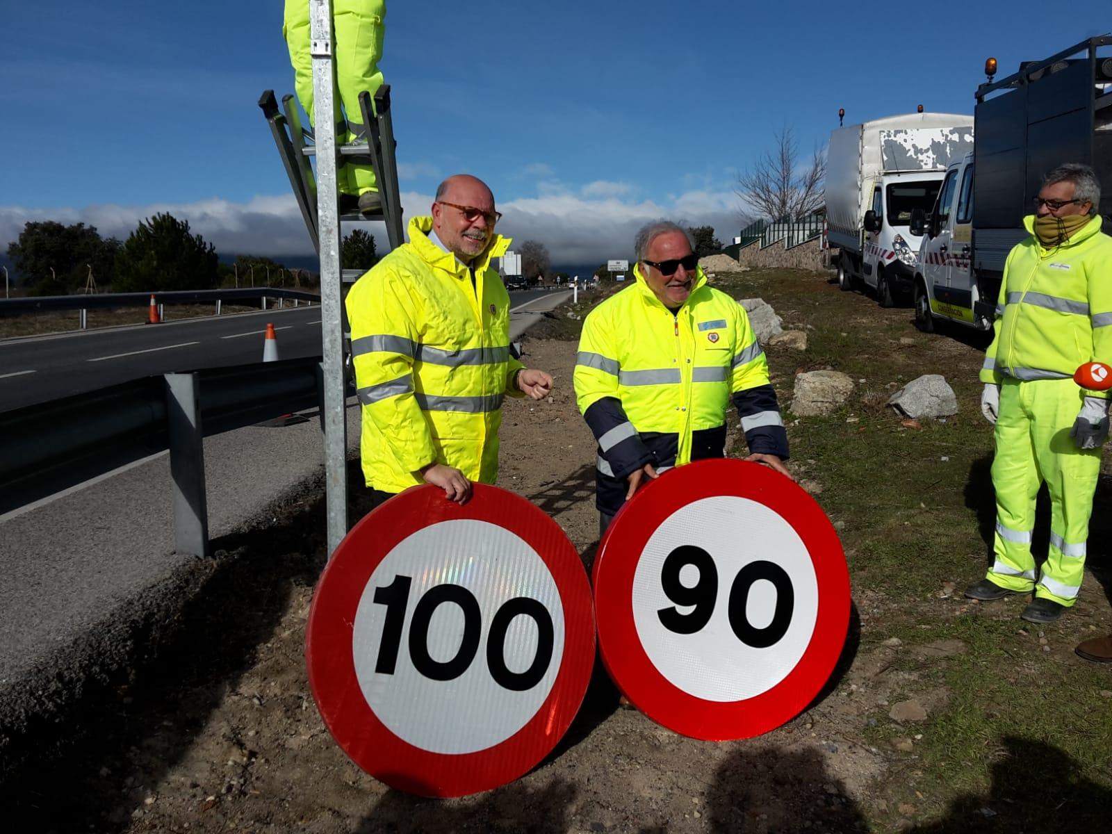 Mañana entra en vigor el límite de 90 km/h en carreteras convencionales
