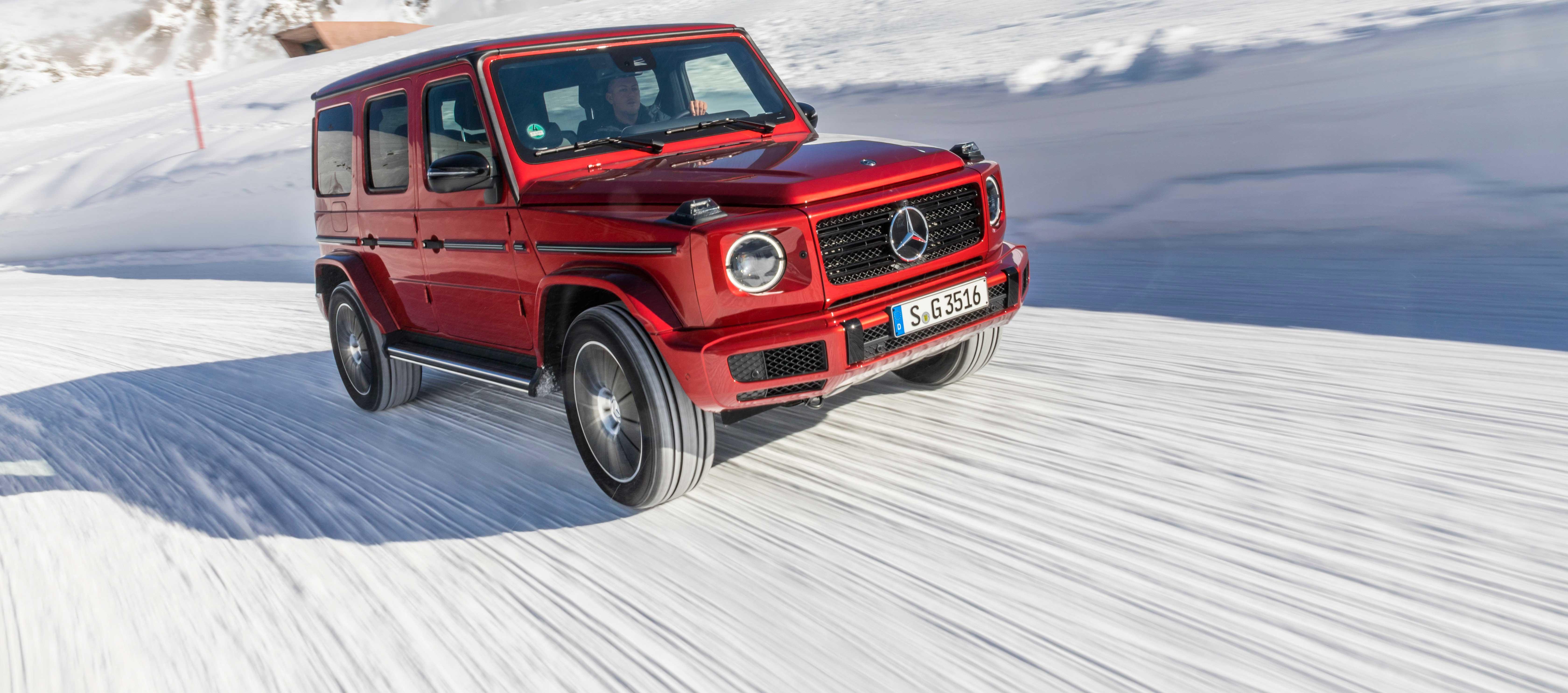 Mercedes-Benz Clase G 350d ya admite pedidos