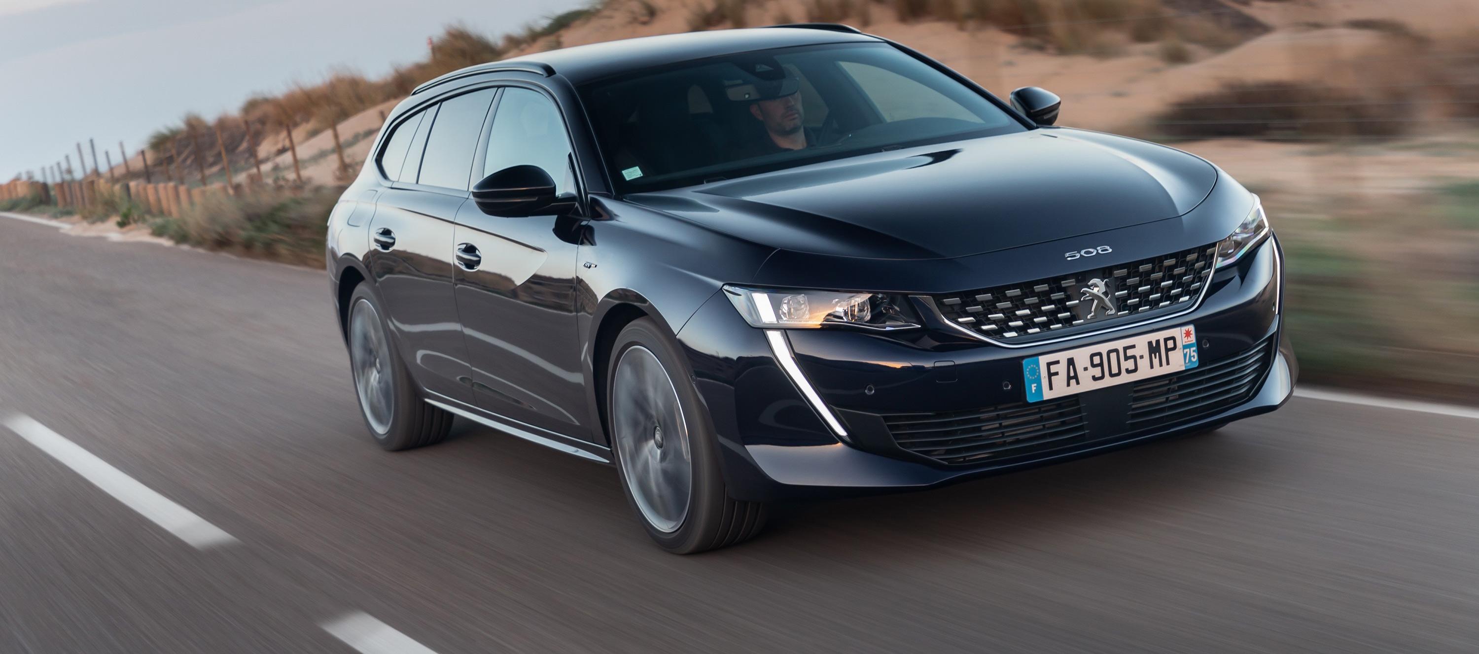 Magic Flat: El nuevo Peugeot 508 SW
