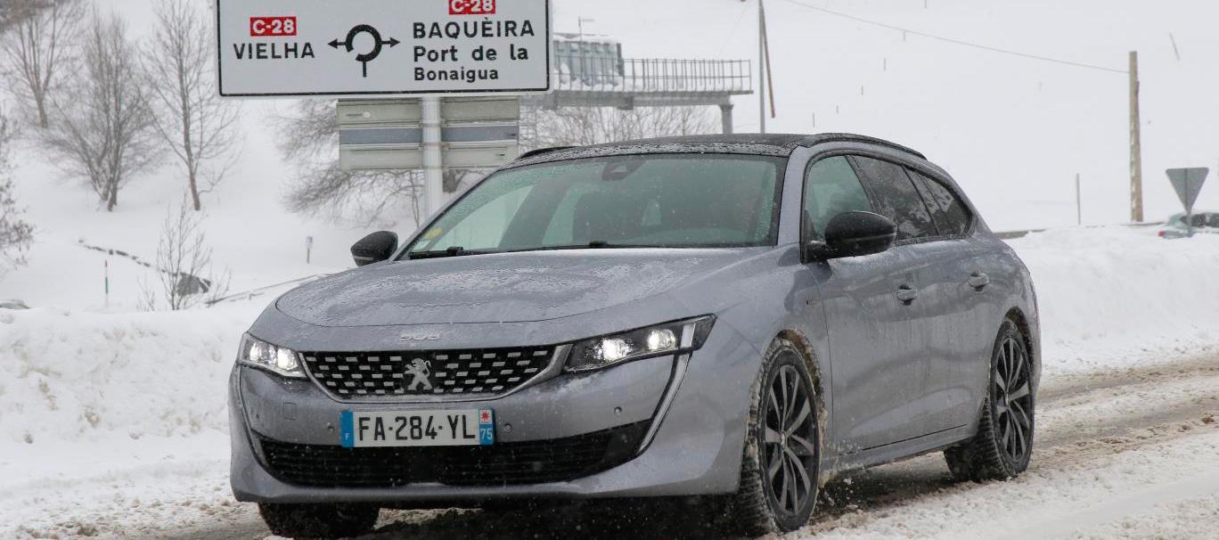 Peugeot 508 SW protagonista de la Winter Experience