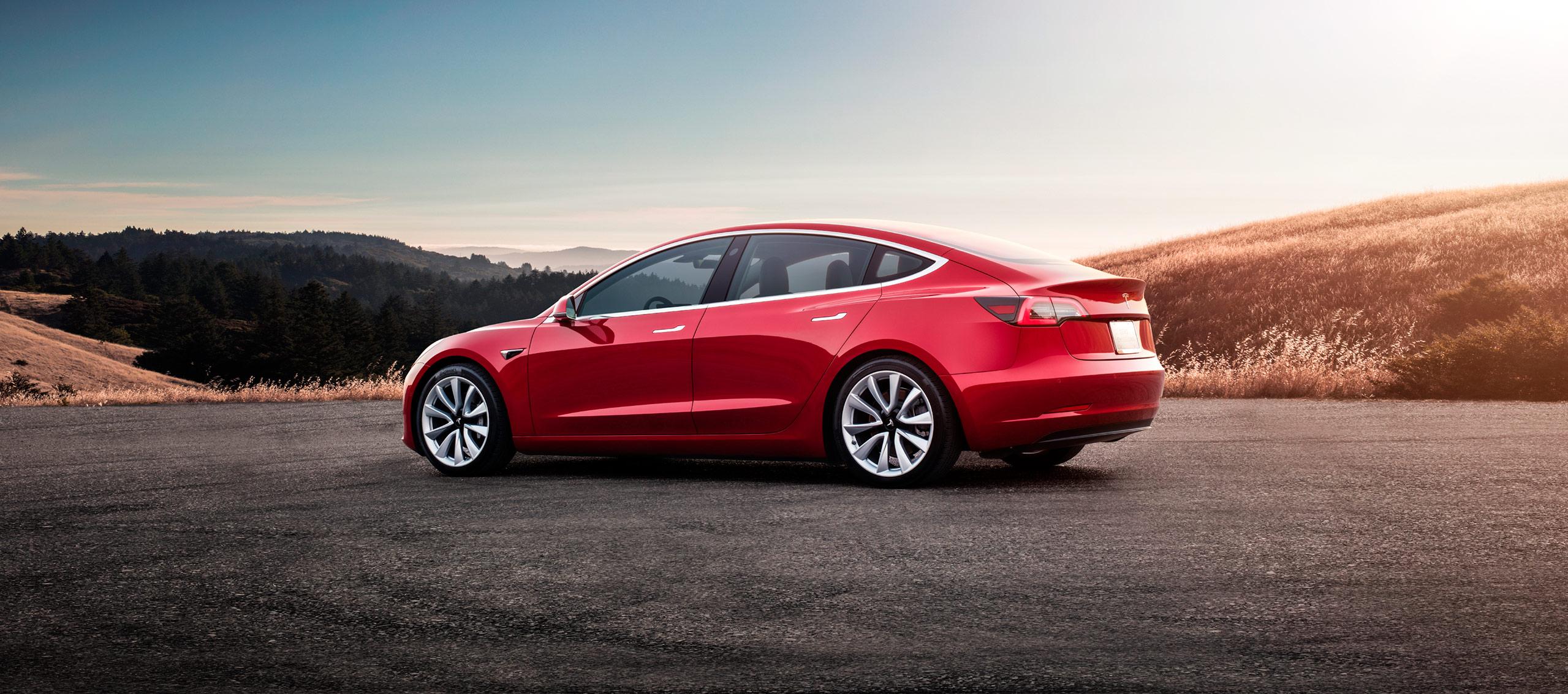 El Tesla Model 3 llega al Mercado Español