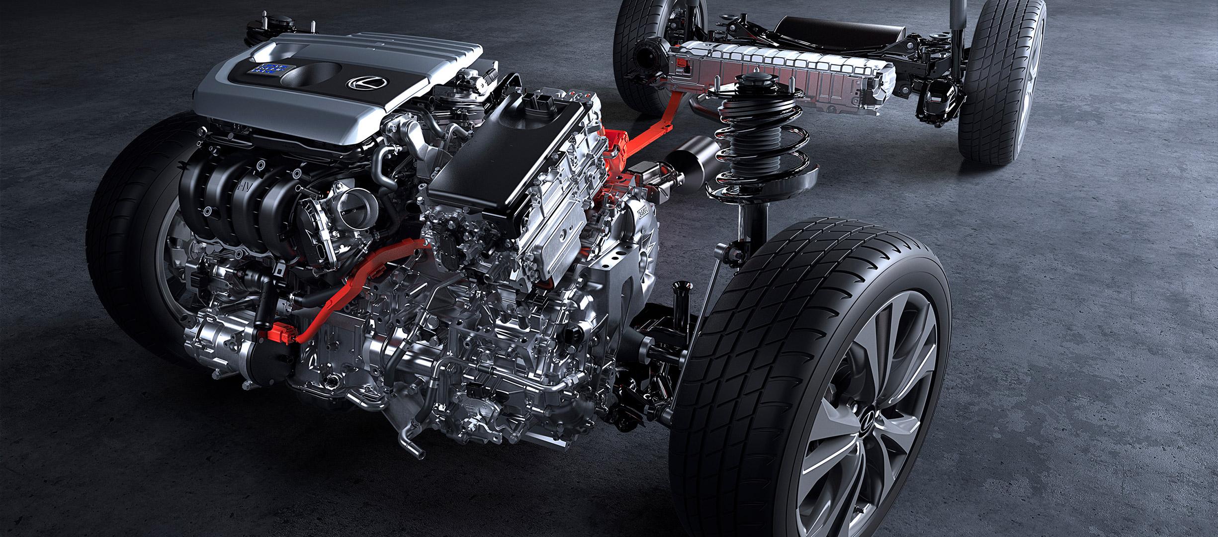 Lexus UX 250h, sistema híbrido autorrecargable de última generación