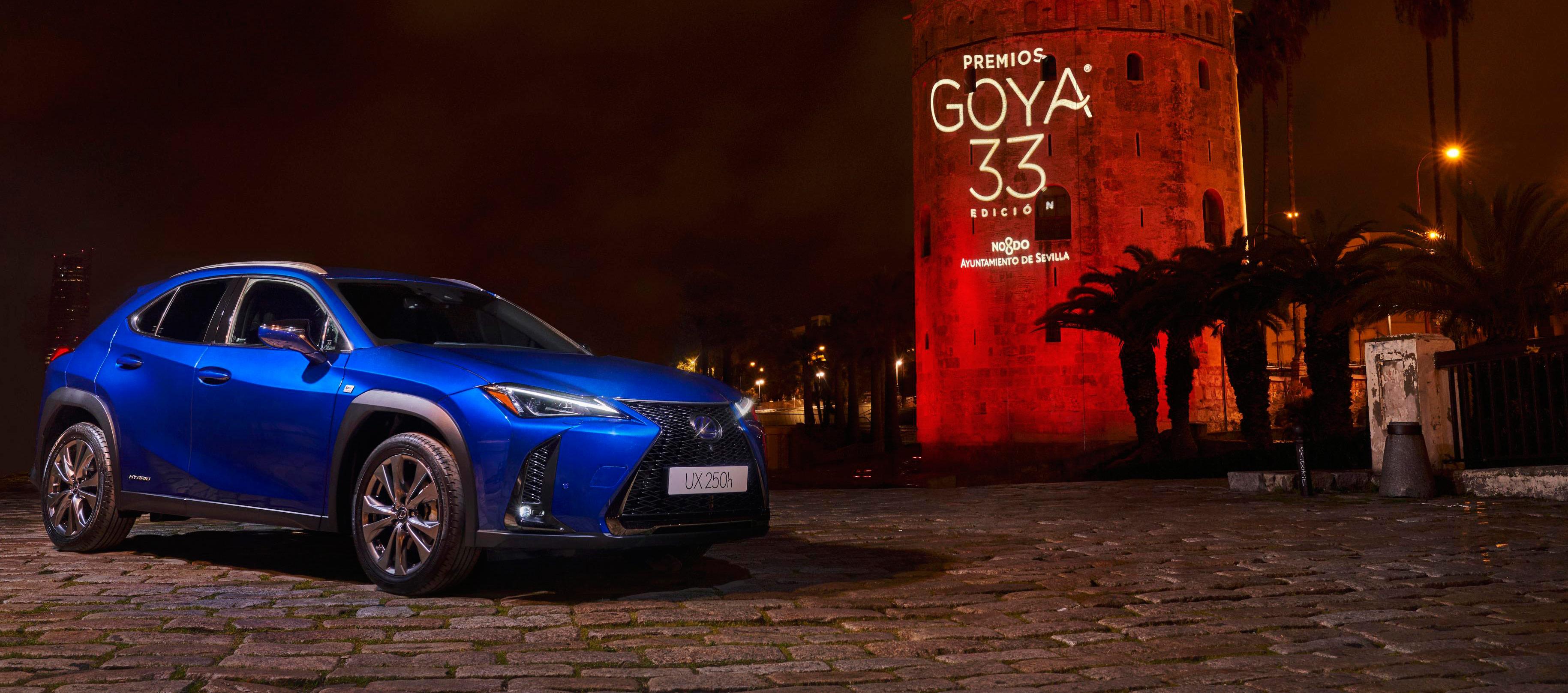 Lexus vehículo oficial de los Premios Goya 2019