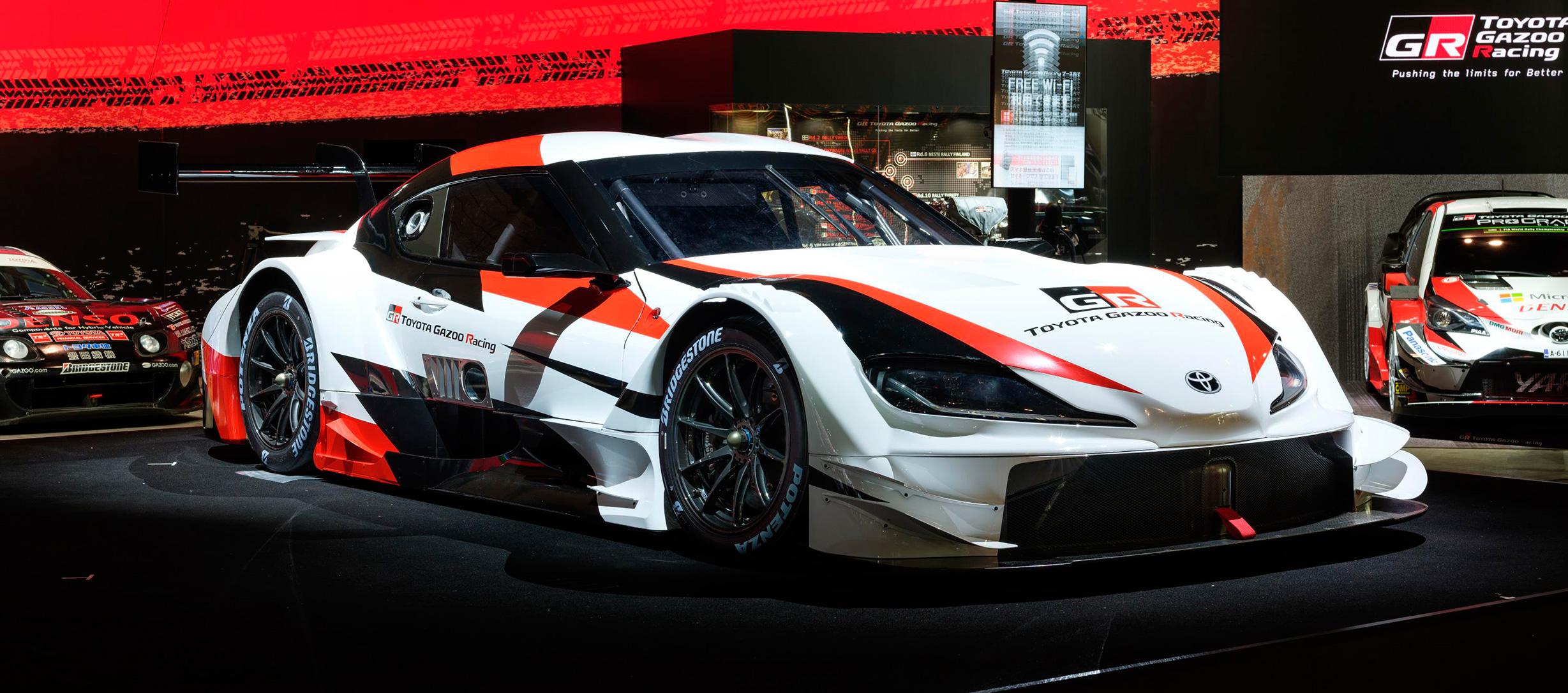 Nuevo Toyota Supra en SUPER GT GT500 a partir de 2020