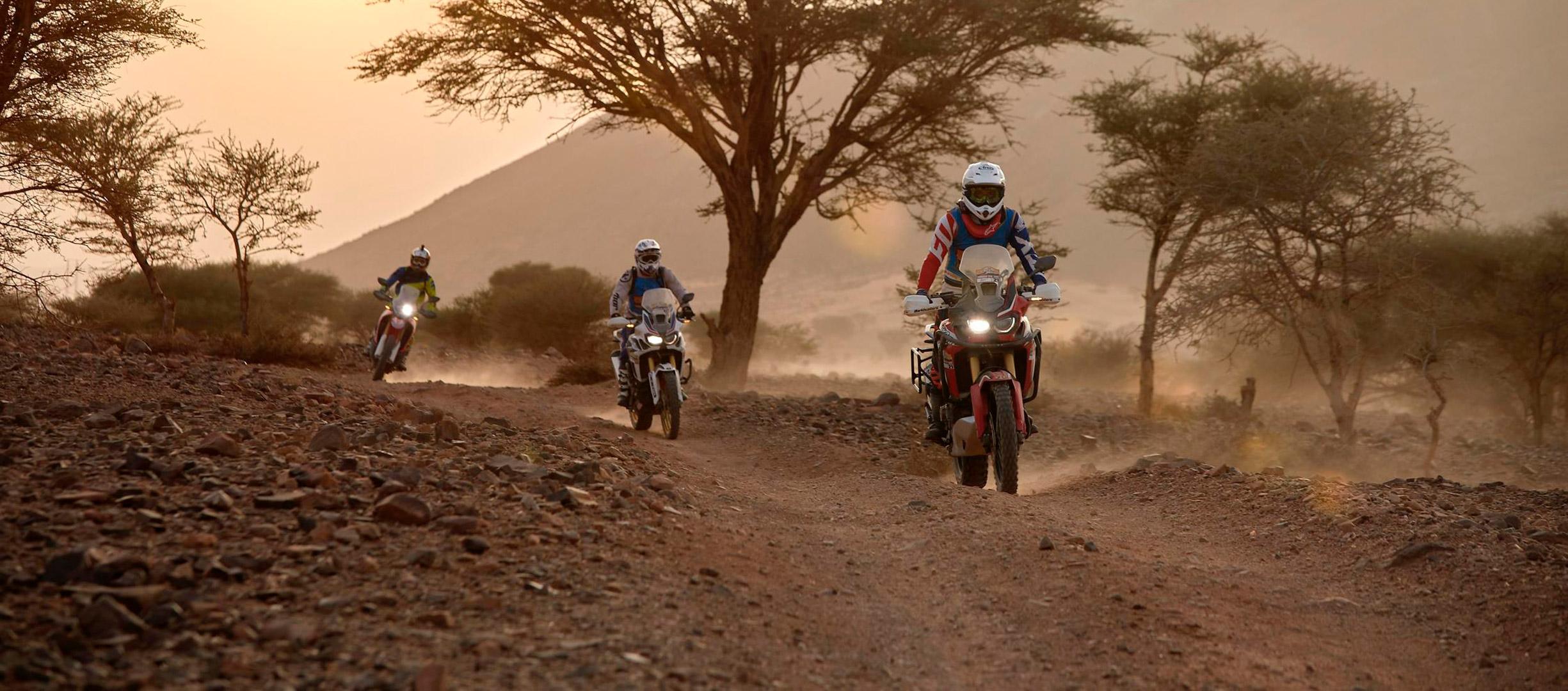 III Edición del Africa Twin Morocco Epic Tour