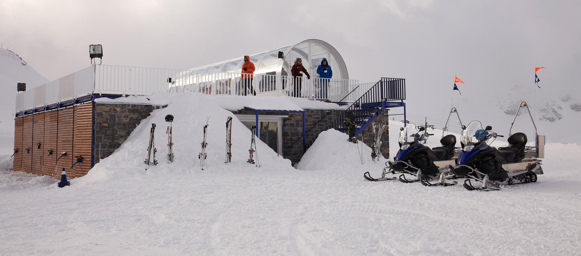 Ford Snow Driving en la estación de esquí de Astún