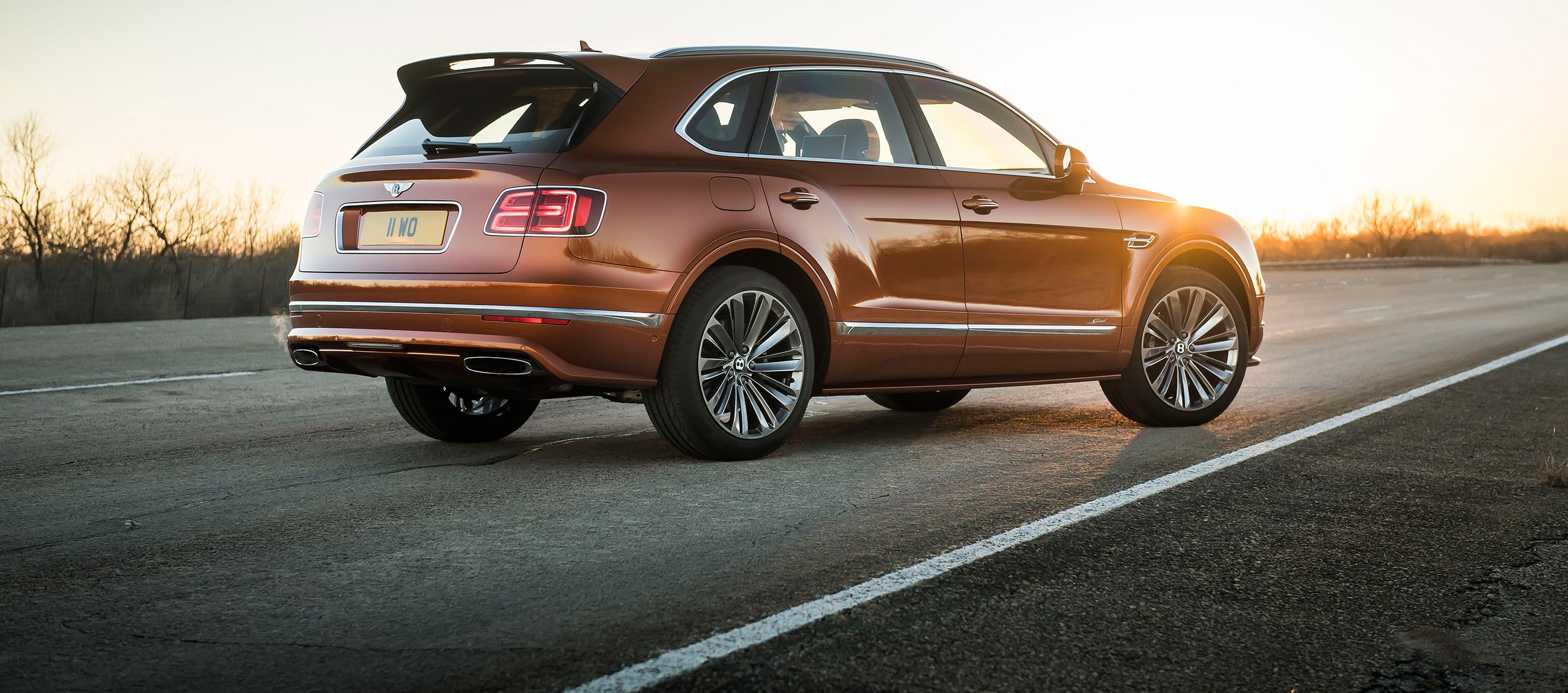 Bentley Bentayga Speed, el SUV de serie más rápido del mundo