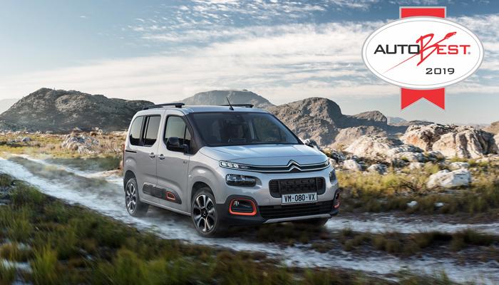 Citroën Berlingo, Premio Autobest 2019